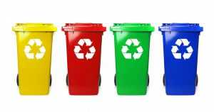 Four Recycle Bins