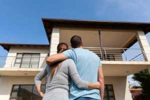 Couple buying the perfect house in Plano, Texas