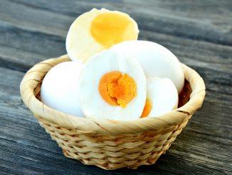 Salted Egg In A Basket