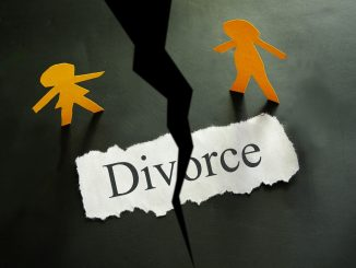 Torn Paper of Divorce