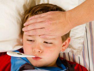 a sick boy