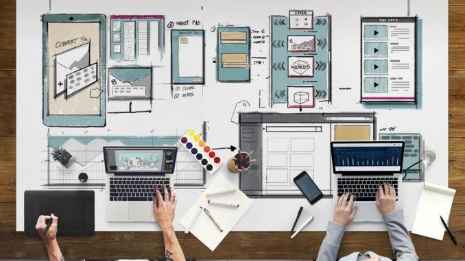 People Working on Web Design