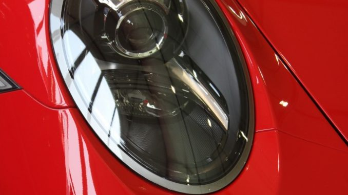 Porsche Headlight