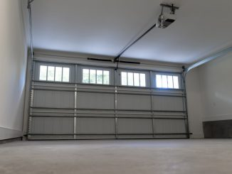 Residential two-car garage