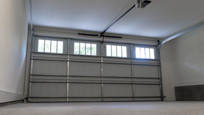 Residential two-car garage