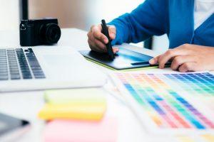Interior designer coloring