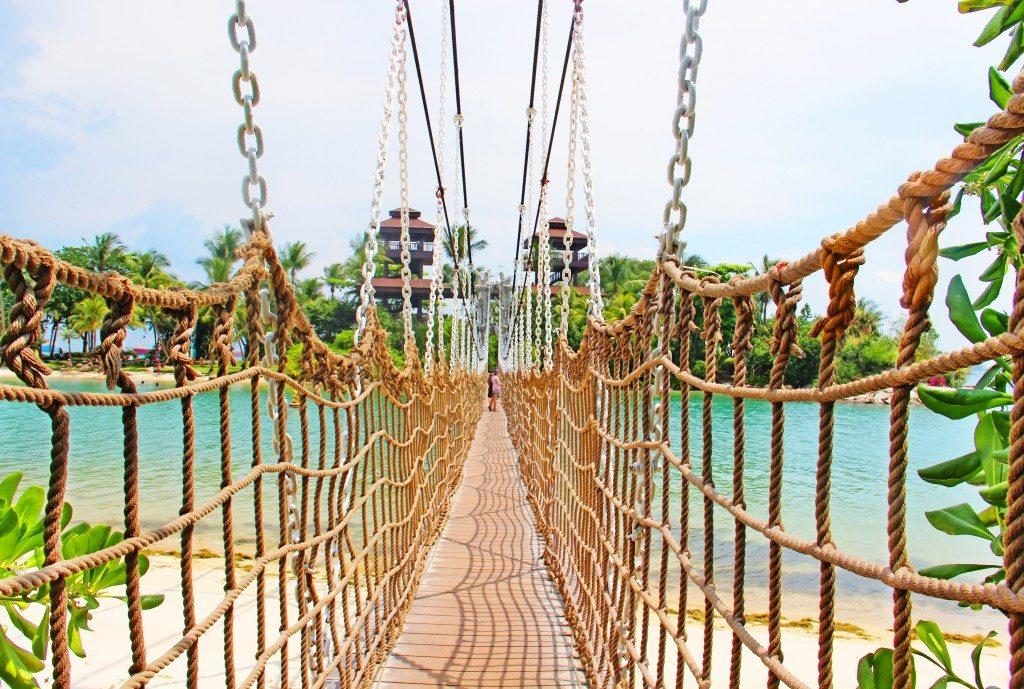 singapore rope bridge