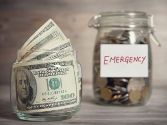 Emergency fund in a jar