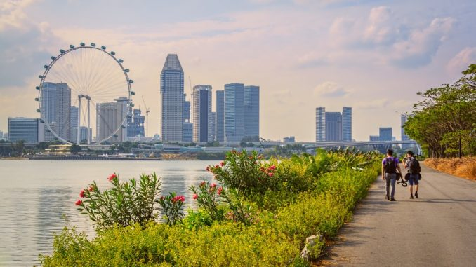 Sightseeing In Singapore City
