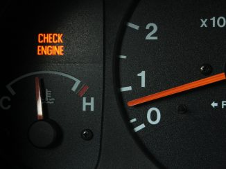 Engine check sign