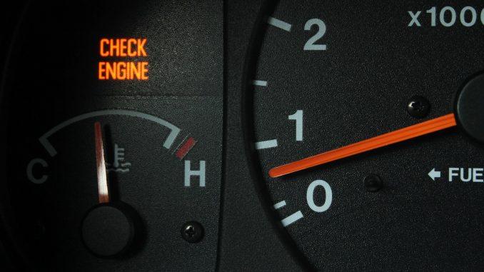 Engine check sign