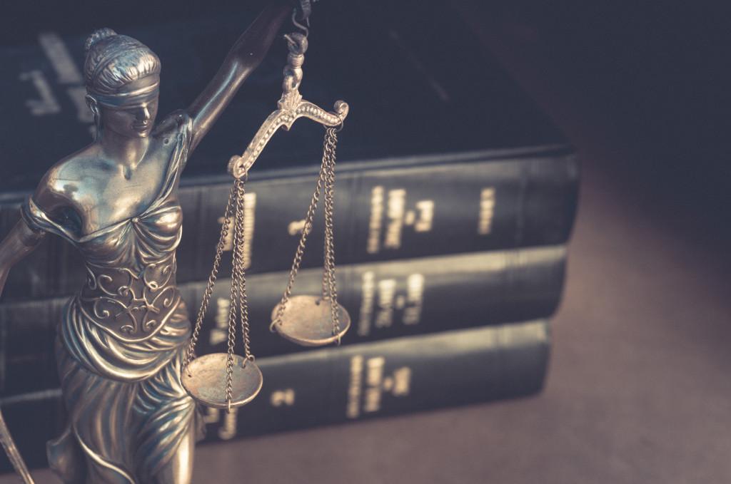 Burden of proof, legal law concept image