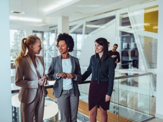 businesswomen in suits