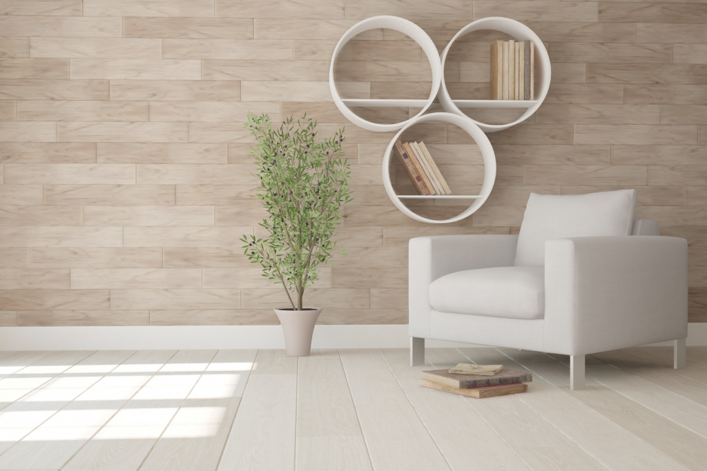 wood wall interior