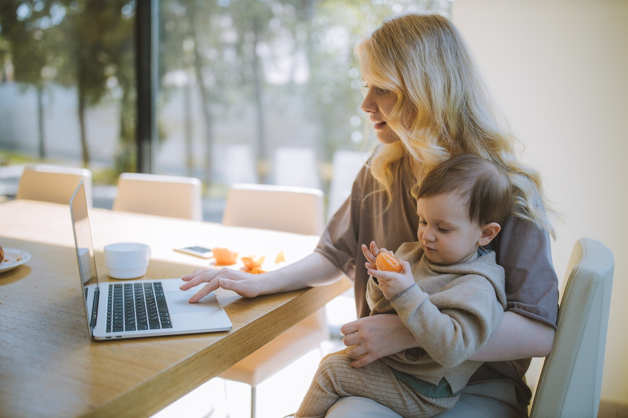 work from home parent