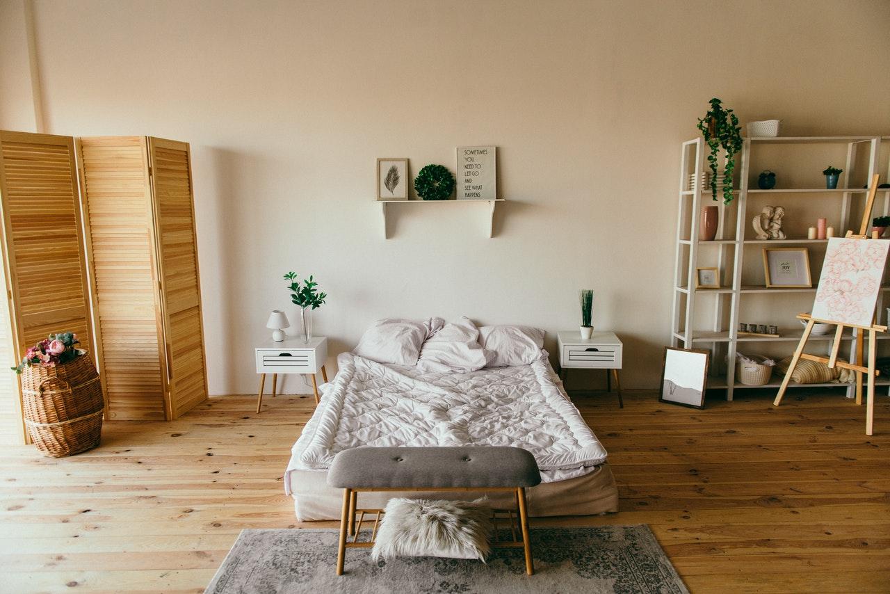 rental bedroom