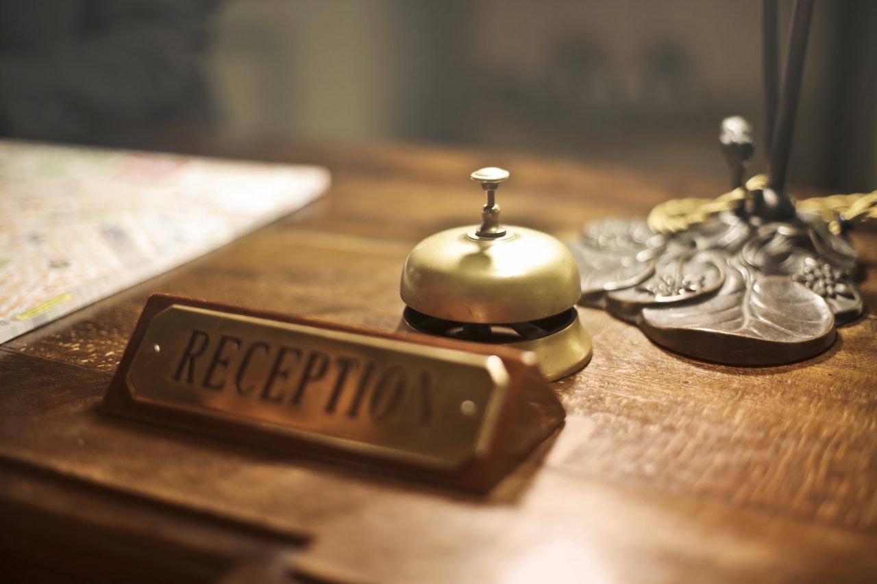 reception front desk