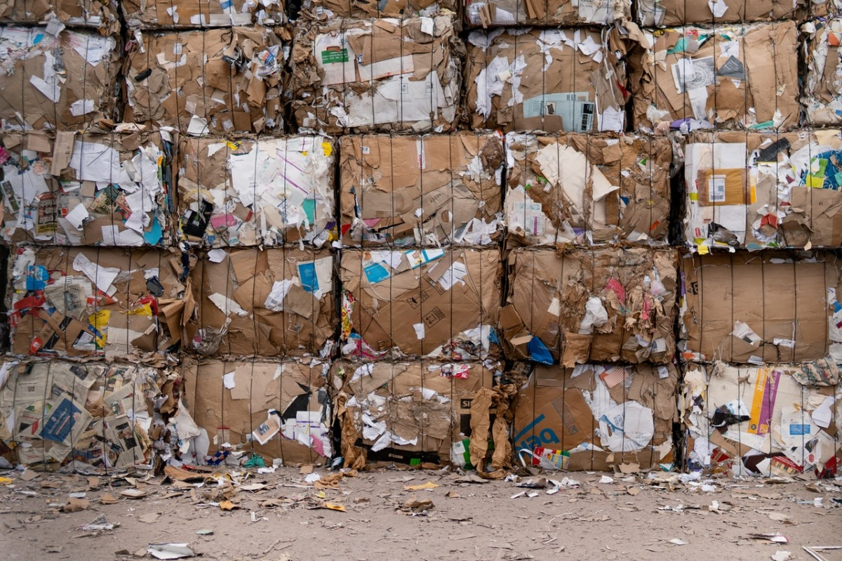 blocks of garbage