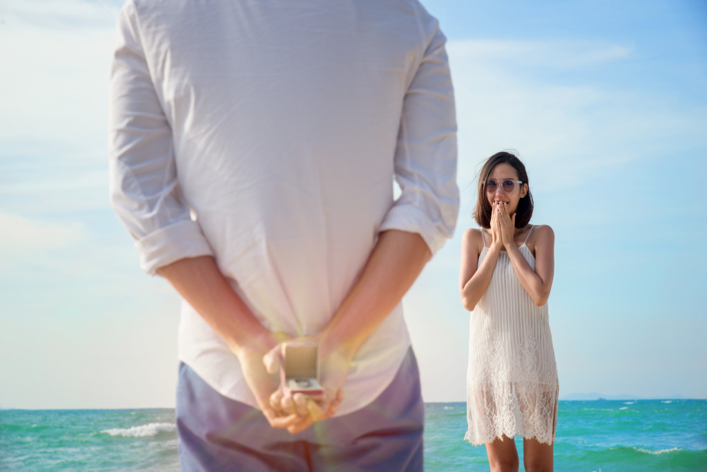 proposing while on vacation